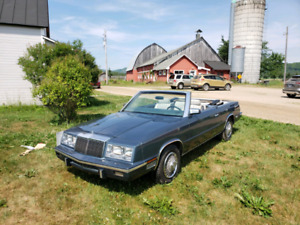 1985 Chrysler LeBaron Mark Cross Edition