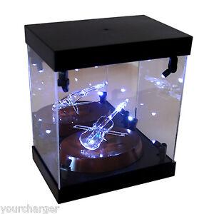 Image Is Loading Acrylic Display Case Light Box For Swarovski Crystal