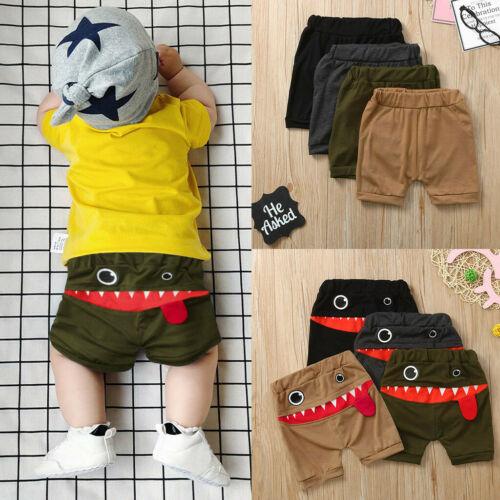 Toddler Baby Children Kid Boy/&Girl Cartoon Tongue Harem Shorts Trousers Shorts K