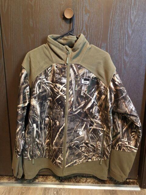 6877f2216de2b BANDED UFS Fleece Full Zip Jacket Coat Realtree Max 5 Camo Size 3xl XXXL  Adult for sale online | eBay