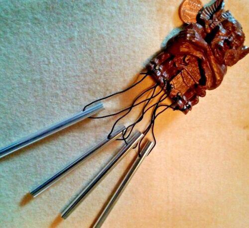 Gargoyle magnet Cold cast wind chimes Halloween  decoration New mini  resin