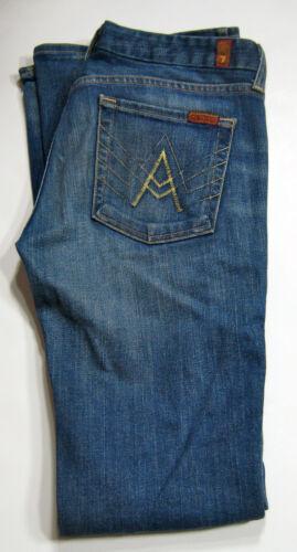 Flare Pocket Stretch Maat For a Wash Denim 28 Jean 7 Medium Mankind All qTpZw87