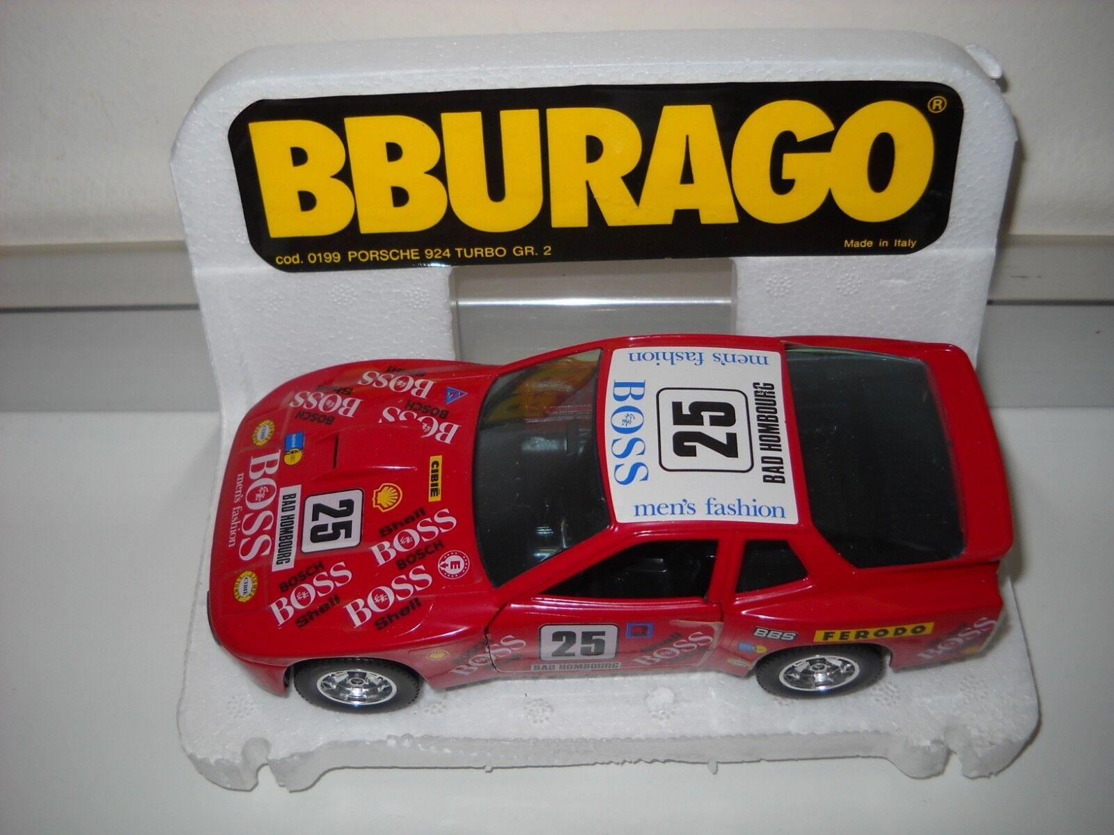 PORSCHE 924 TURBO GR.2 scala 1 24 BURAGO