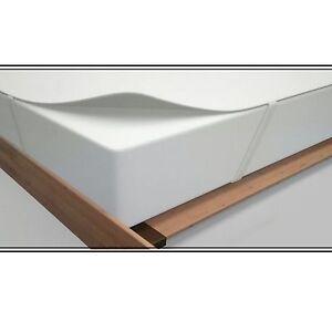 molton matratzenauflage matratzenschoner 150x200 180x200cm matratzenauflage wei ebay. Black Bedroom Furniture Sets. Home Design Ideas