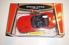 Modellauto 1:18 - Dodge Viper SRT/10 rot - Bburago 03380RT