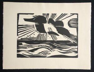Heinrich Stegemann, sole inseguirsi mare, 1924/25, legno di sezione dal SCONTO