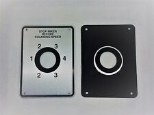 SHIFTER PLATE FOR HOBART MODELS H600 L800 MIXER,COMES WITH GROMMET & BACK GASKET