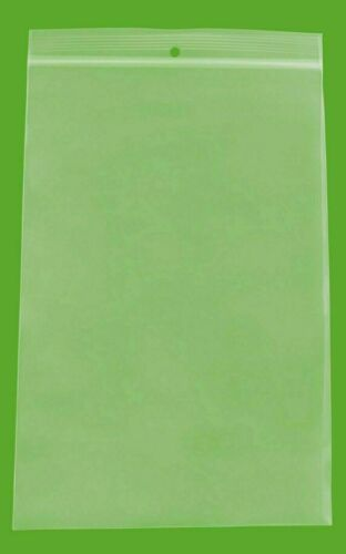 """6/"""" x 6/"""" Zip Top Bags 2 Mil Reclosable Bag with Hang Hole 2000 Count 6x6"""
