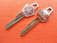2 Dodge Chrysler Plymouth Mopar Ignition Trunk Key Blanks 59 60 61 62 63 64 65 Fits 1960 Valiant