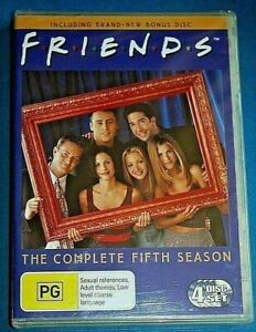 FRIENDS-Season-5-DVD-NEW-SEALED-Region-4-Australian
