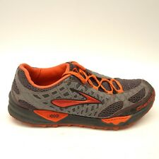 614d635cac9 Brooks Mens Cascadia 7 Trail Mesh Running Athletic Cushioned Shoes US 10 EU  44