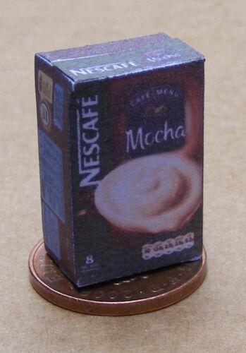 Échelle 1:12 vide Moka Café Paquet Maison De Poupées Cuisine Boisson Accessoire