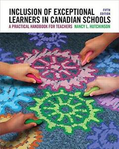 Inclusion of Exceptional Learners In Canadian Schools A Practical Handbook for Teachers 5th Edition Canada Preview
