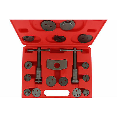 ABN Front and Rear Caliper Brake Rewind and Piston Compression 18-Piece Tool Kit