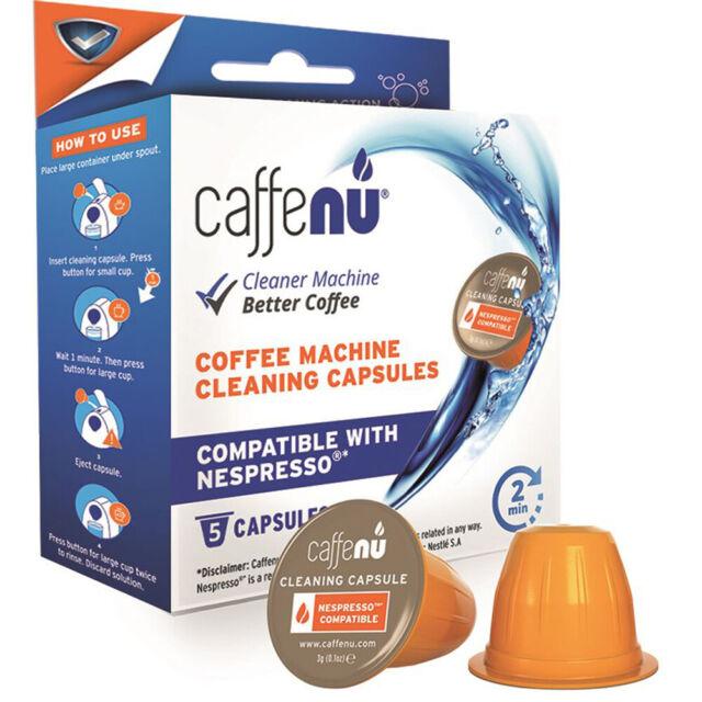 Caffenu Nespresso Coffee Machine Cleaning Capsules 100 Food Safpack Of 5