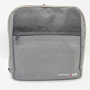 Nintendo DS 3DS Travel Bag Mini Cross Body Backpack Carry Case Grey Black