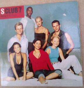 S Club 7 Bring It All Back CD single Promo