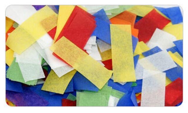 Confetti Multi Color Tissue per pound flameproof rectangular Paper confetti