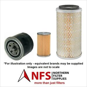 Neuson 2404 Filter Service Set mit Yanmar 3Tnv76-Sns Motor