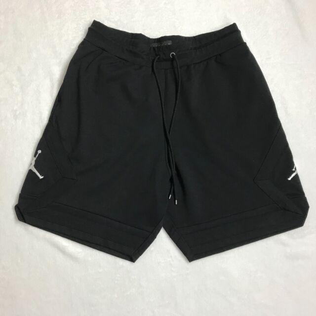 c27f6951 Nike Jordan Sportswear Jumpman Knit Shorts Triple Black Aj0799 010 US Mens  Sz M