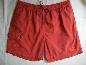 a610279625 Image is loading TOMMY-BAHAMA-mens-XL-RED-nylon-SWIM-TRUNKS-