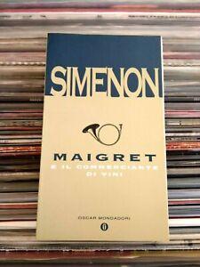 SIMENON: MAIGRET E IL COMMERCIANTE DI VINI