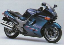 2 COLOUR KAWASAKI TOUCH UP PAINT KIT ZZR1100 1994 TEAL GREEN AND NOCTURNE BLUE