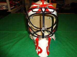 GAME-WORN-HOCKEY-GOALIE-MASK-NHL-QMJHL-WHL