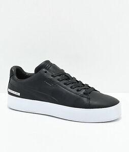 a4a5f52eb0fd6 Details about New PUMA x Black Scale Court Platform Black & White Shoes  Men's Sz 8