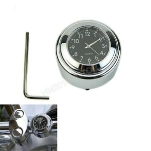 1-034-7-8-034-Chrome-Dial-Clock-Glow-For-Honda-Gold-Wing-GL-1100-1200-1500-1800