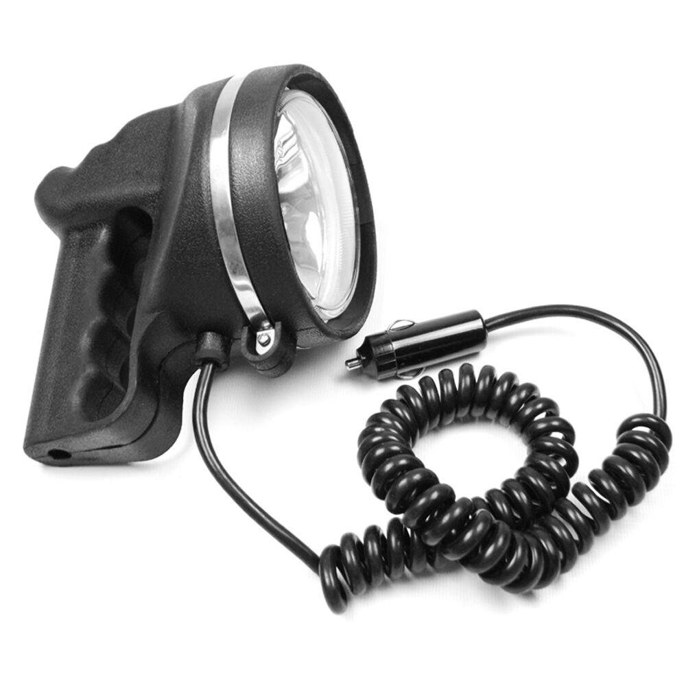 12V Scheinwerfer wasserdicht Handscheinwerfer Suchscheinwerfer Lampe 12 Volt