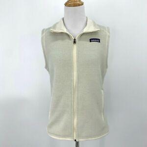 Patagonia-Better-Sweater-Fleece-Vest-Women-039-s-Size-S-Full-Zip-Sleeveless-Collar