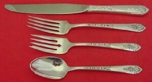 4pc In Pain s Promise By Royal Crest Sterling Silver Regular Size Place Setting