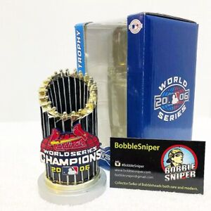St Louis Cardinals 2006 World Series Replica Trophy Paperweight Non Bobblehead Ebay
