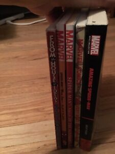 Classic-Spider-Man-TPB-Lot-of-5-Marvel-Comics-Epic-Collection-Sandman-Best-of