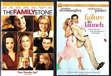 The Family Stone & Failure To Launch - 2 FS DVDs
