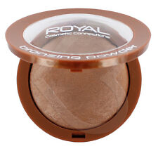 Royal Cosmetics Baked Bronzing Pressed Powder Compact Bronzer Sunkissed Bronze