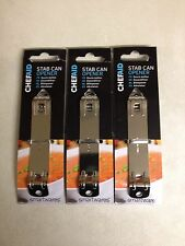 3x Mini Stab Can Bottle Opener Piercer Chef Aid Stainless Steel Traditional Tool