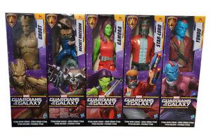 Gardiens-of-the-Galaxy-Titan-Hero-series-30-cm-figurines-Gamora-Yondu-NEUF