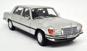 Norev 1/18 - Mercedes Benz 450 SEL 6.9 1976 W116 Silver Diecast Scale Model Car