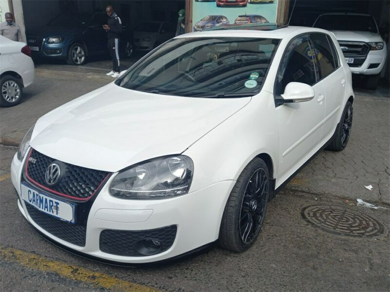 2008 Volkswagen Golf 2.0 GTI DSG, White with 94000km available now!
