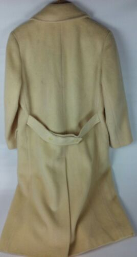Pendleton Størrelse Tan Uld Kvinder Trench Usa 10 Vintage Breasted Double Coat Virgin BCqdqR