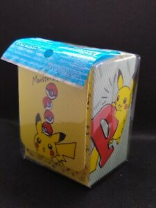 Pokemon-Center-Japan-Pikachu-Zeichnung-Card-Deck-Case-Box