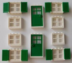 White Window 1 x 4 x 3 Standard Lego Window with Glass NEW 100/% Lego 4