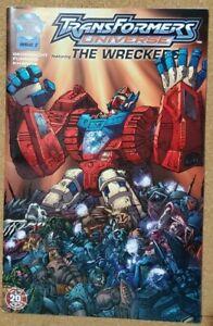 RARE-OTFCC-Transformers-Universe-The-Wreckers-034-DIRECTORS-CUT-034-comic-book-Botcon