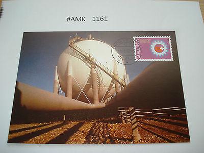#amk1161 Beleg Brief Postkarte Ganzstück Europa Schweiz 50 Jahre Int Gas-union