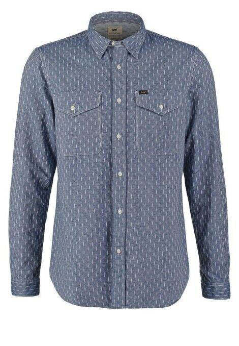Lee® Jeans Army Shirt Night Blau - Medium SRP    | Verrückte Preis  | Queensland  | Die Qualität Und Die Verbraucher Zunächst