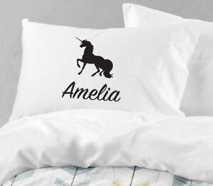 Personalised-Unicorn-Pillowcase-Printed-Gift-Custom-Made-Print