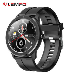 Lemfo-Reloj-inteligente-Presion-arterial-Reloj-deportivo-inteligente-Android-iOS