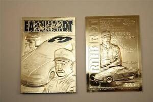 DALE-EARNHARDT-2001-23KT-Gold-Card-Sculptured-GM-GOODWRENCH-3-Serial-039-d-NM-MT